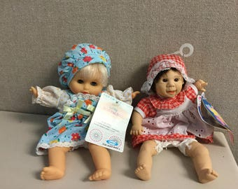 Cititoy bean bag doll and GiGo Expression doll NWT