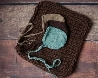 Photography props blanket set newborn size