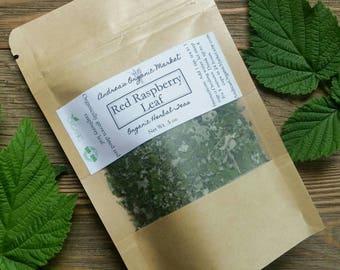Organic Red Raspberry Leaf, Herbal Loose Leaf Tea, Organic Dried Herbs, Natural Tea, Organic Tea Herb, Herbal Tea, Organic Raspberry Leaves