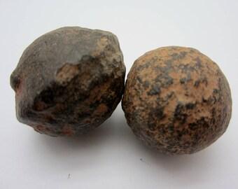 MOQUI MARBLE Pair Shaman Stone, Utah USA 43g