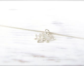 Lotus Flower | Necklace | Silver 925