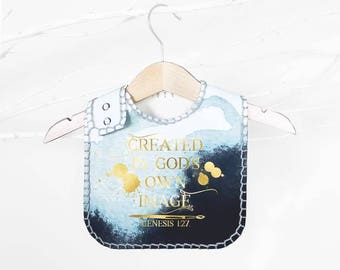 Created in God's Own Image - Baby and Toddler Bib
