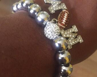 Football Mom bracelet