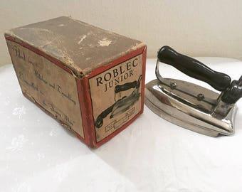 Vintage Iron 1960's - Roblec Junior