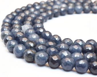 Natural Agate Gemstone Beads Faceted Round Beads 6mm Natural Stones Beads Healing chakra stones Jewelry Making Item# 789222065225