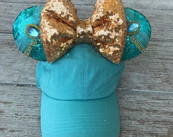 Jasmine inspired hat
