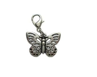 Butterfly Pendant charms Bracelet