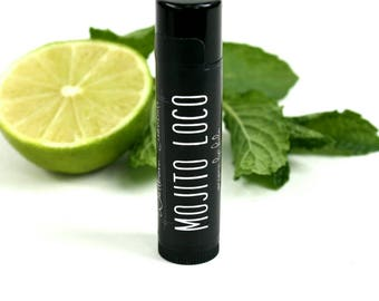 Organic Mojito Lip Balm • natural skin care. Natural beauty products. Essential oils.