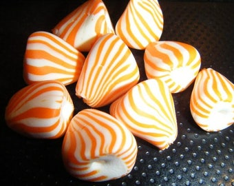 ♥ 10 charms berlingots ♥ polymer clay Fimo beads