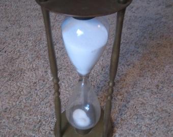 Brass Hour Glass