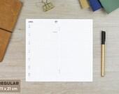 """Kalenderheft """"Hobonichi"""" - verschiedene Formate für dein TN"""