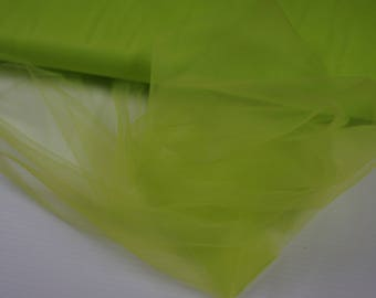 Apple Lime Green Tulle Fabric, decoration fabric, net fabric, bow making, tutu, dress making, anniversary, party decorations, birthday party
