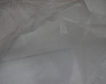 White Organza Fabric, bow making, dress fabric, decoration fabric, wedding, birthday party, anniversary, vail, bridal fabric, organza bags