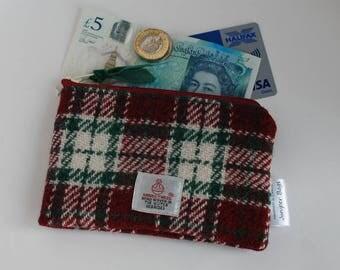 Harris Tweed Coin Purse / Small Purse / Wool Purse / Change purse
