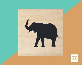 Elephant - 1.5cm Rubber Stamp (DODRS0221)