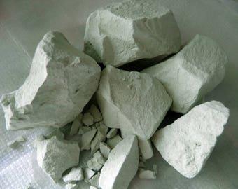 1 LB  Green clay, edible clay, Clay Chunks, Organic clay, 100% pure natural (450 gr)+ Free Samples