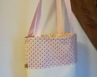 """Bag / tote bag / tote bag """"pink Japan"""""""