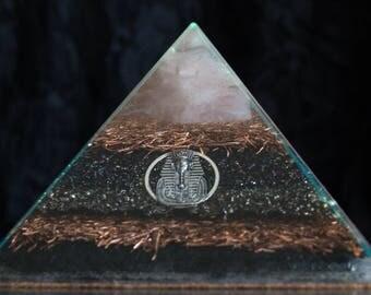 Audranite Mixed Metals Pyramid