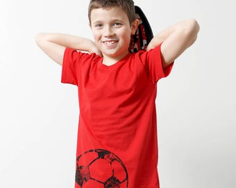 "Bio Children's T-shirt ""soccer"""