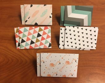 Trendy Mini Envelopes, Gift Card Size, Pack of 10