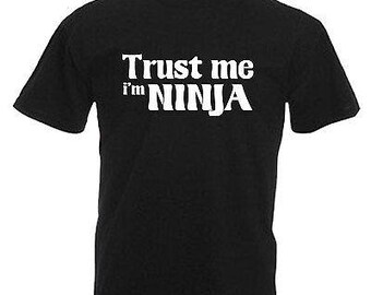 Ninja karate children's kids t shirt
