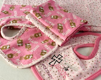 Welcome Baby Gift Set- Pink Cutie