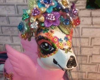 OOAK MLP Custom Sugar Skull Queen