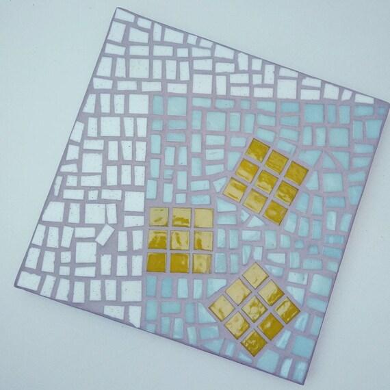 "Mosaic Artwork ""Square in square"""