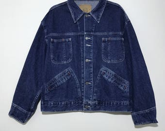 Vintage SPELLBOUND Denim Jacket Japanese Brand Made In Japan Size L