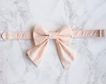 Girl Dog Collar, Wedding Dog Collar, Rifle Paper Co, Pink Dog Collar, Floral Dog Collar, Rose Gold Hardware, Girl Cat, Floral Cat Collar
