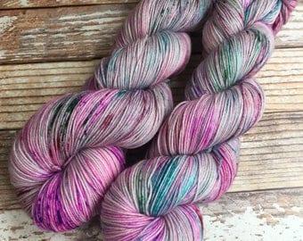 Isabel - Graffiti - Hand Dyed Yarn - 75/25 Superwash Merino/Nylon