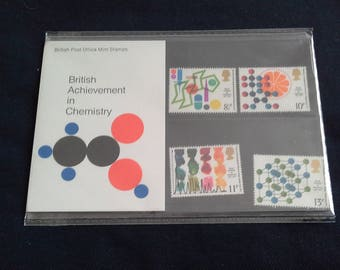 Royal Mail stamps British Achievement in Chemistry presentation pack 1977