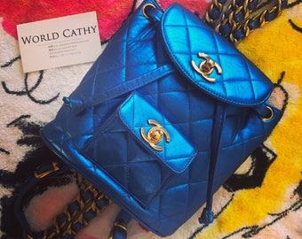 chanel vintage duma backpack