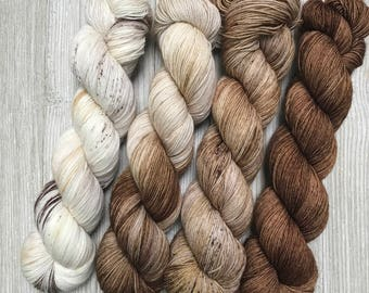 Dyed to Order Dessert Yarn Gradient Set