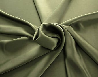 1712-099 - Crepe Satin silk 100%, width 135/140 cm, made in Italy, dry cleaning, weight 100 gr