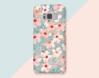 Samsung S8 Case Samsung S8 PLUS Case Samsung Case S8 Samsung Case S8 Plus - Cherry of the hills - Vintage Sakura - Ultra Slim - Hard Case