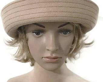 Vintage Cream Bucket Hat Women's hat Festival Hat