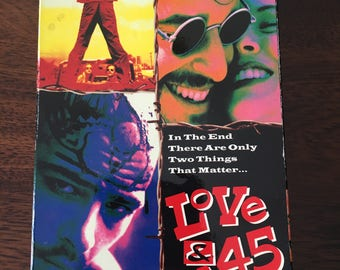 Love And A .45 VHS Video