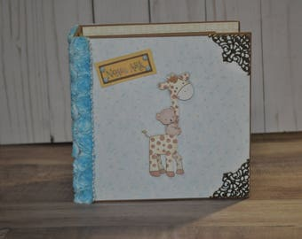 Baby Mini Album Noah's Ark Scrapbook