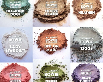 Bowie Loose Pigment Collection