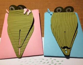 Alligirl and Alliboy Alligators Party Treat Favor Bags-12