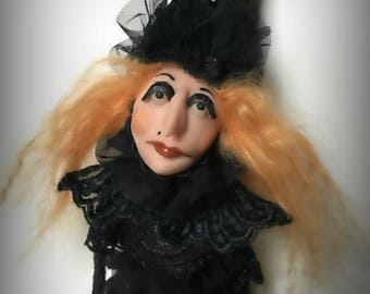 Halloween Witch, Witch Doll, Halloween Decoration, Halloween Ornament