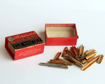 Box of Fountain Pen Nibs by R. Esterbrook & Co