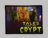 Tales from the Crypt PATCH - HORROR - Cryptkeeper, Keeper, 80s TV