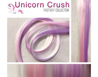 "UNICORN LUSH 18"" Crush Clip-In Hair Extension Set - 4 PIECES!"
