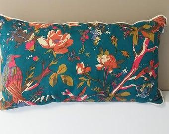 Cushion pattern Blue Bird
