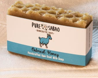 Organic Oatmeal Honey Goat Milk Soap