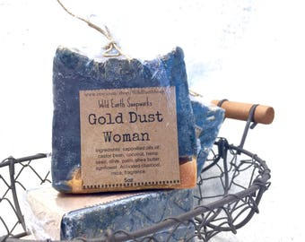 Gold Dust Woman Handcrafted Soap