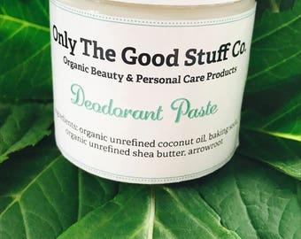 Deodorant Paste - Aluminum Free