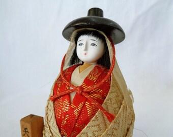 EJP32 : Japanese old girl doll